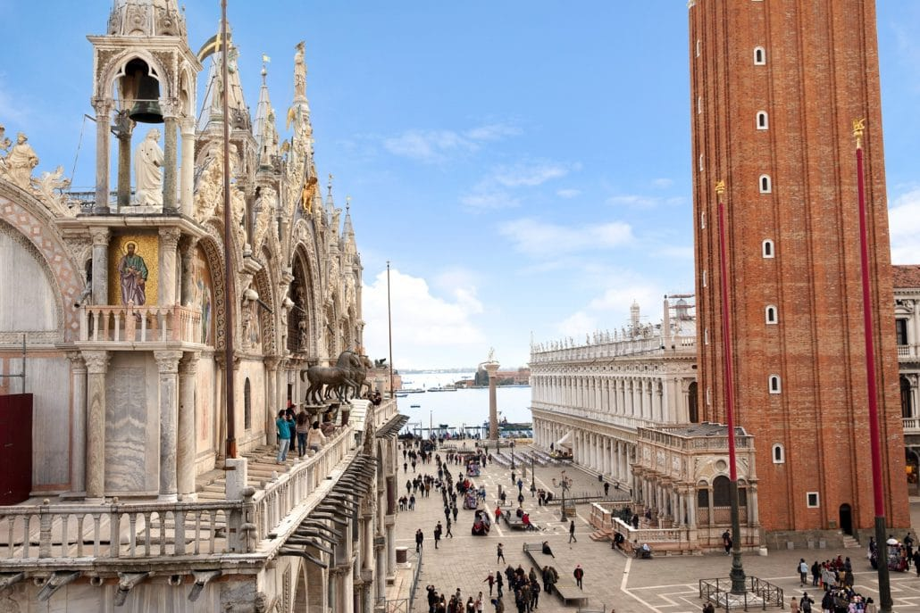 Apartment in with San Marco Square View